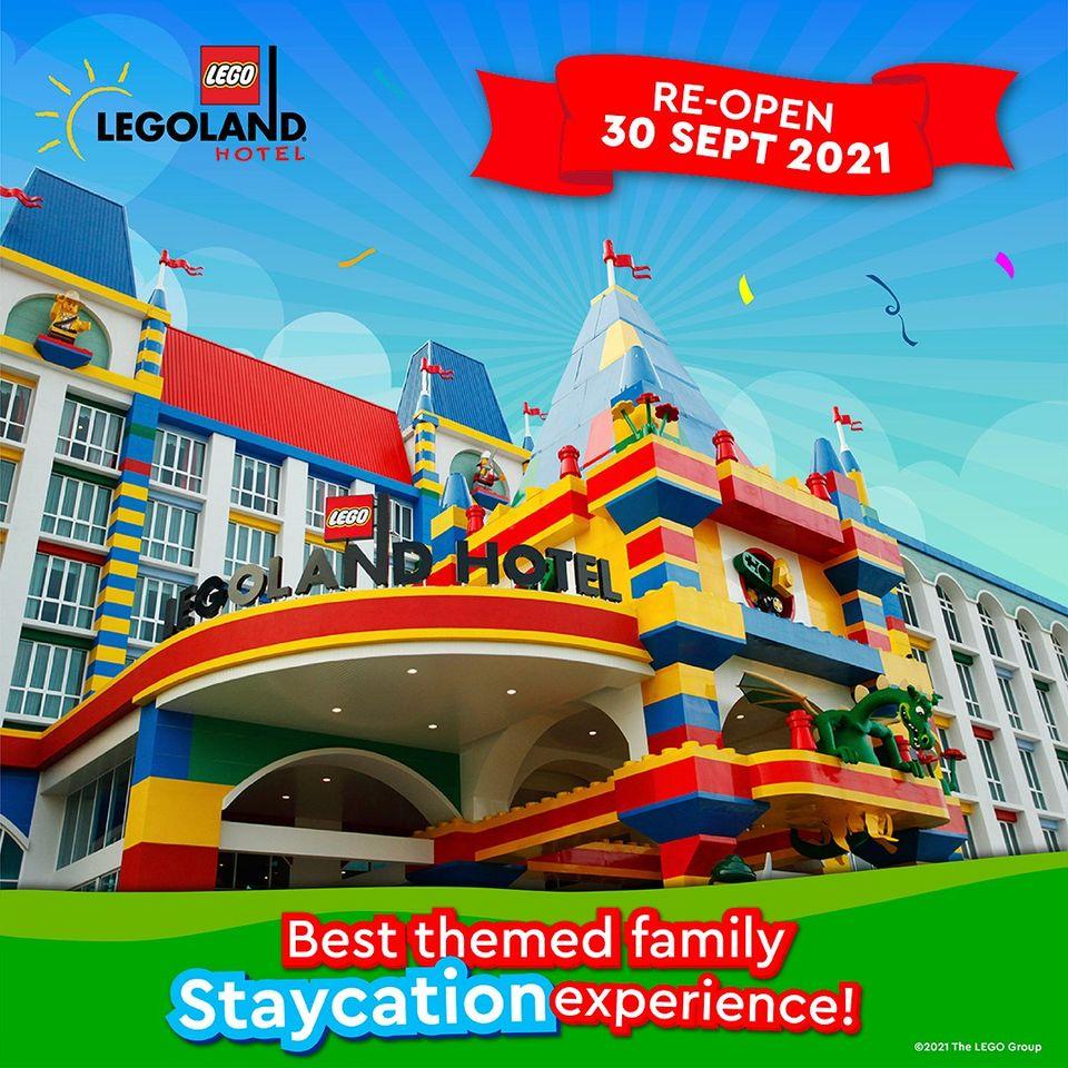 LEGOLAND® Hotel reopening from 30 September onwards